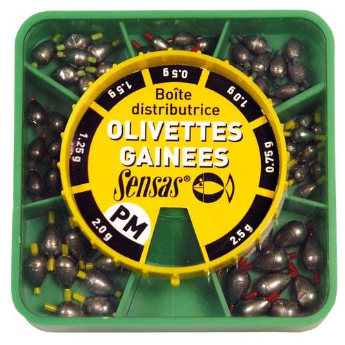 oval olivettes dispenser box